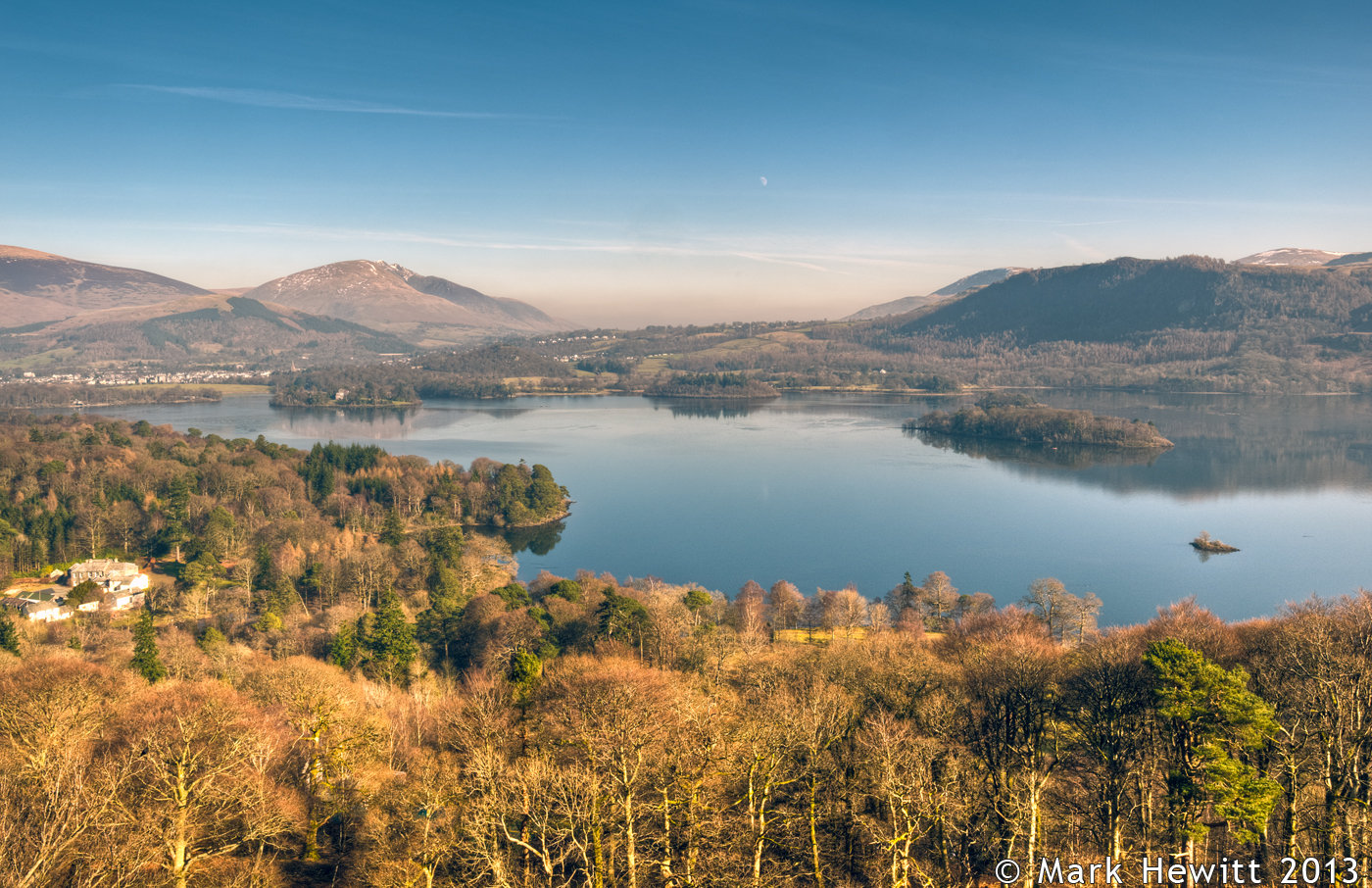 Derwentwater From Skelgill Bank