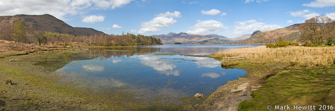 Derwentwater Viewpoint From Great Bay