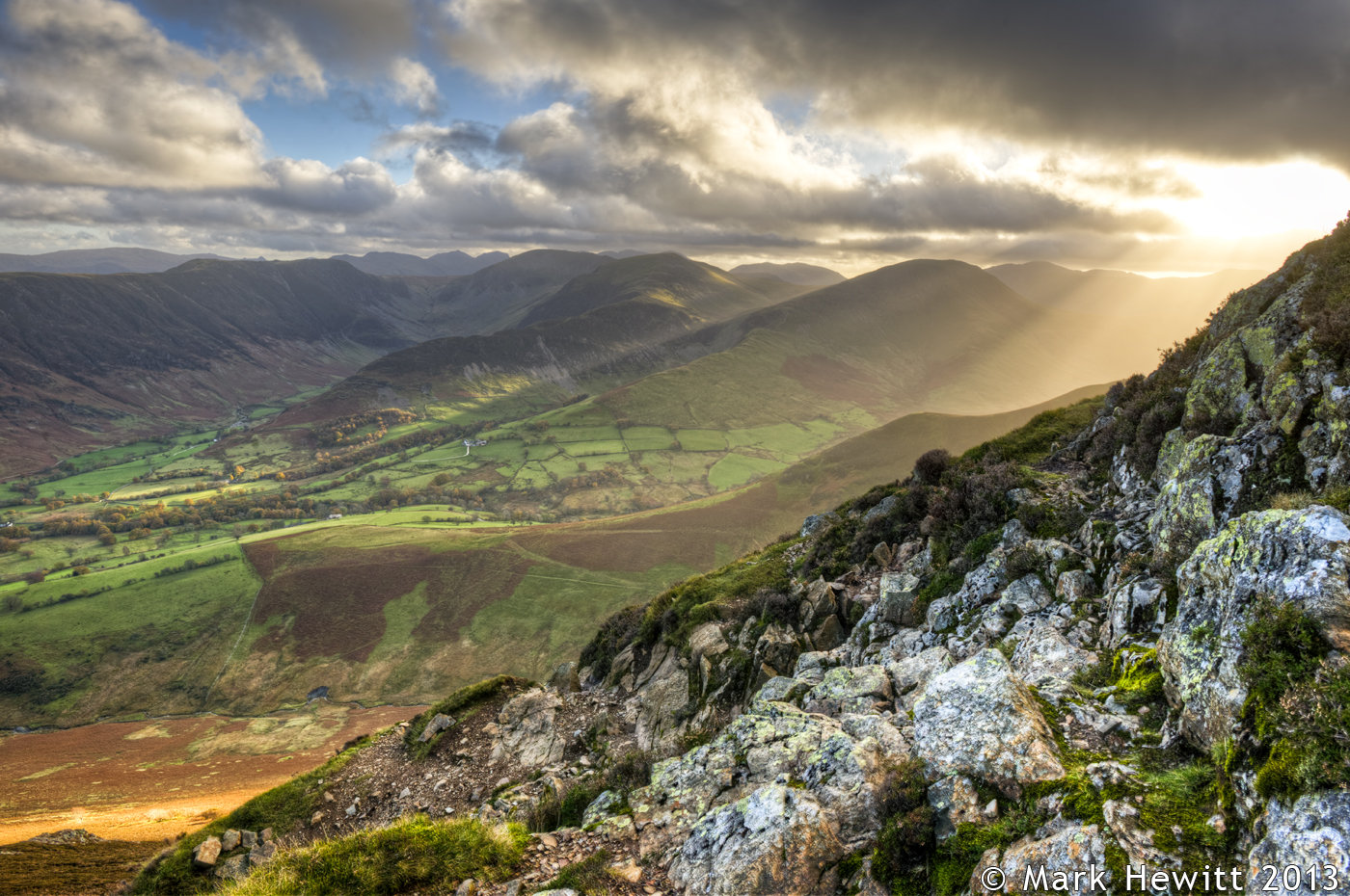 Descent From Causey Pike