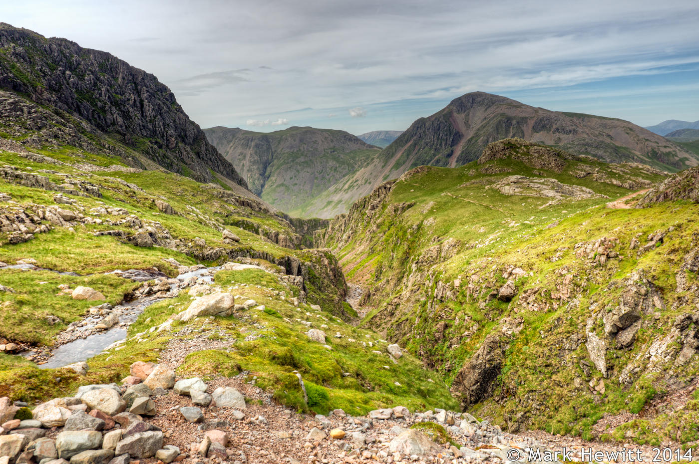 Descent From Scafell Pike