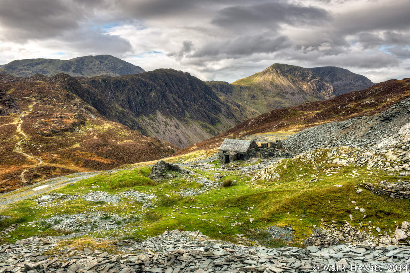 Dubs Hut, Haystacks & High Crag