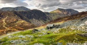 Dubs Hut, Haystacks & High Crag (Panoramic version)