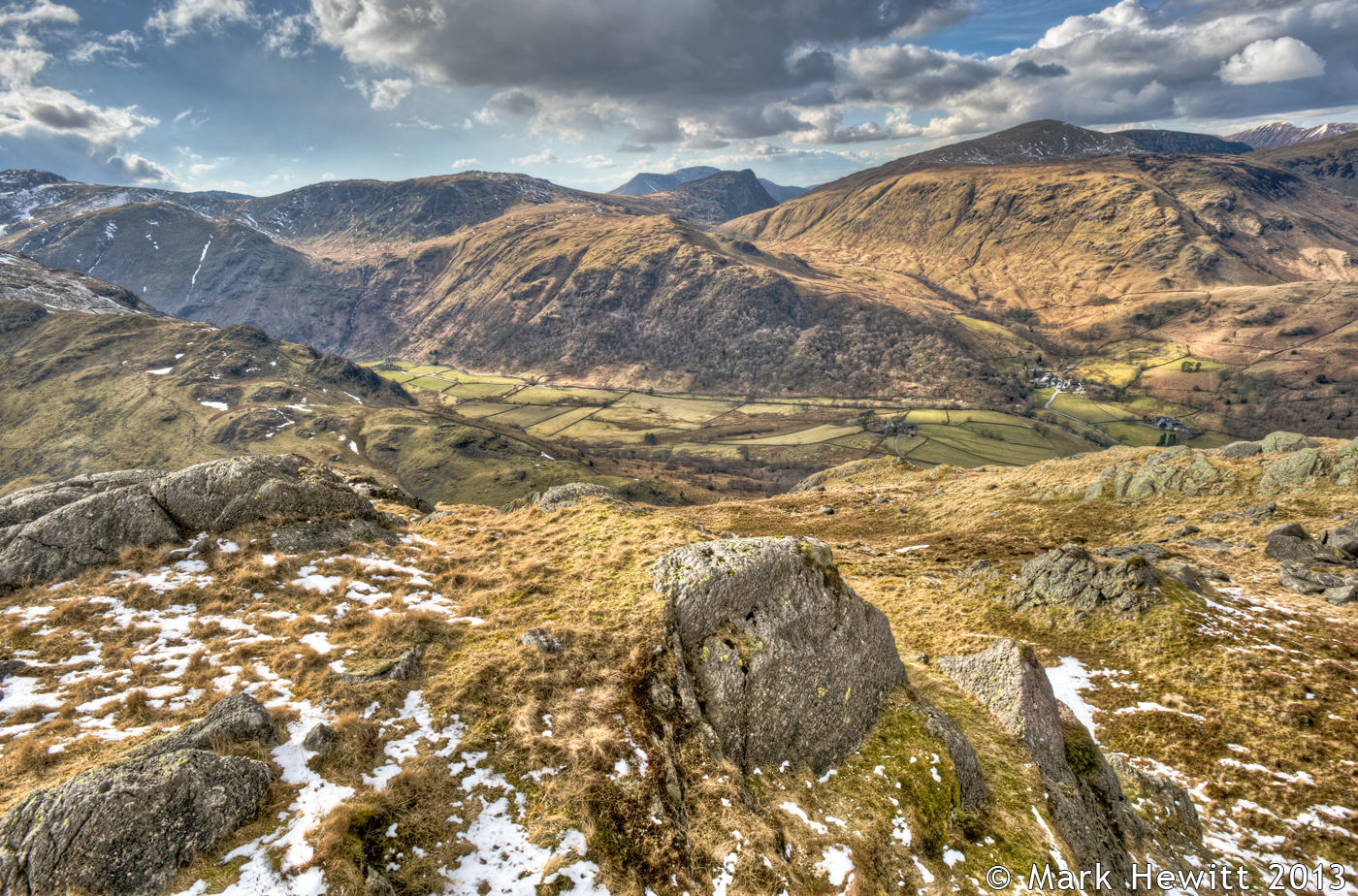 Fleetwith Pike & Dale Head From Rosthwaite Fell 2