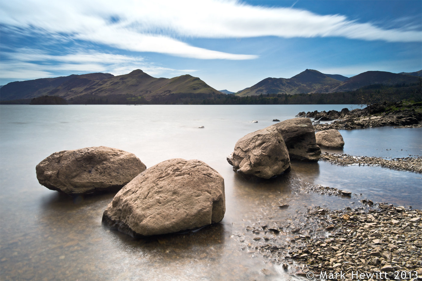 Friars Crag Shoreline
