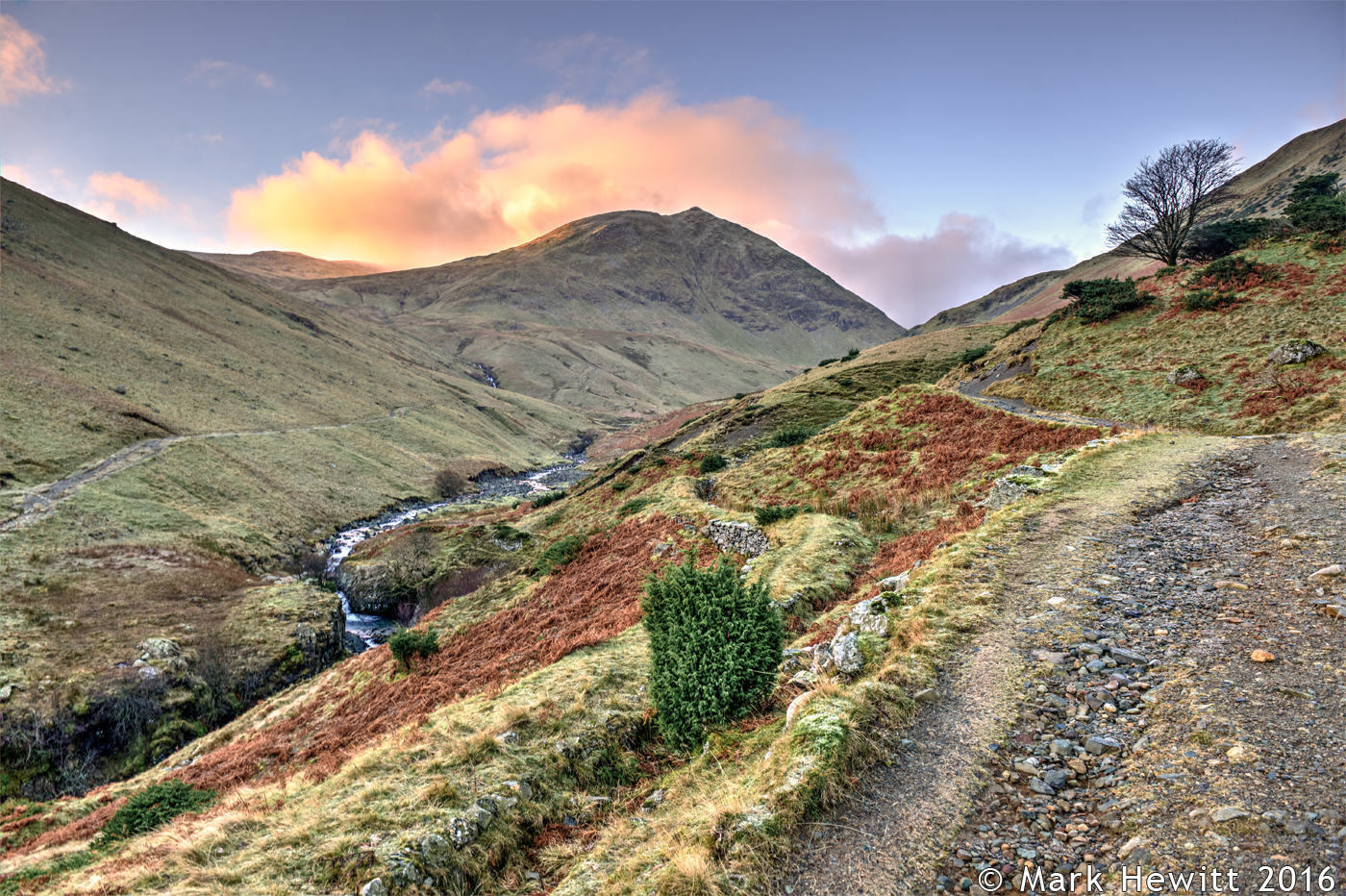 Glenridding Beck & Catstycam From Greenside