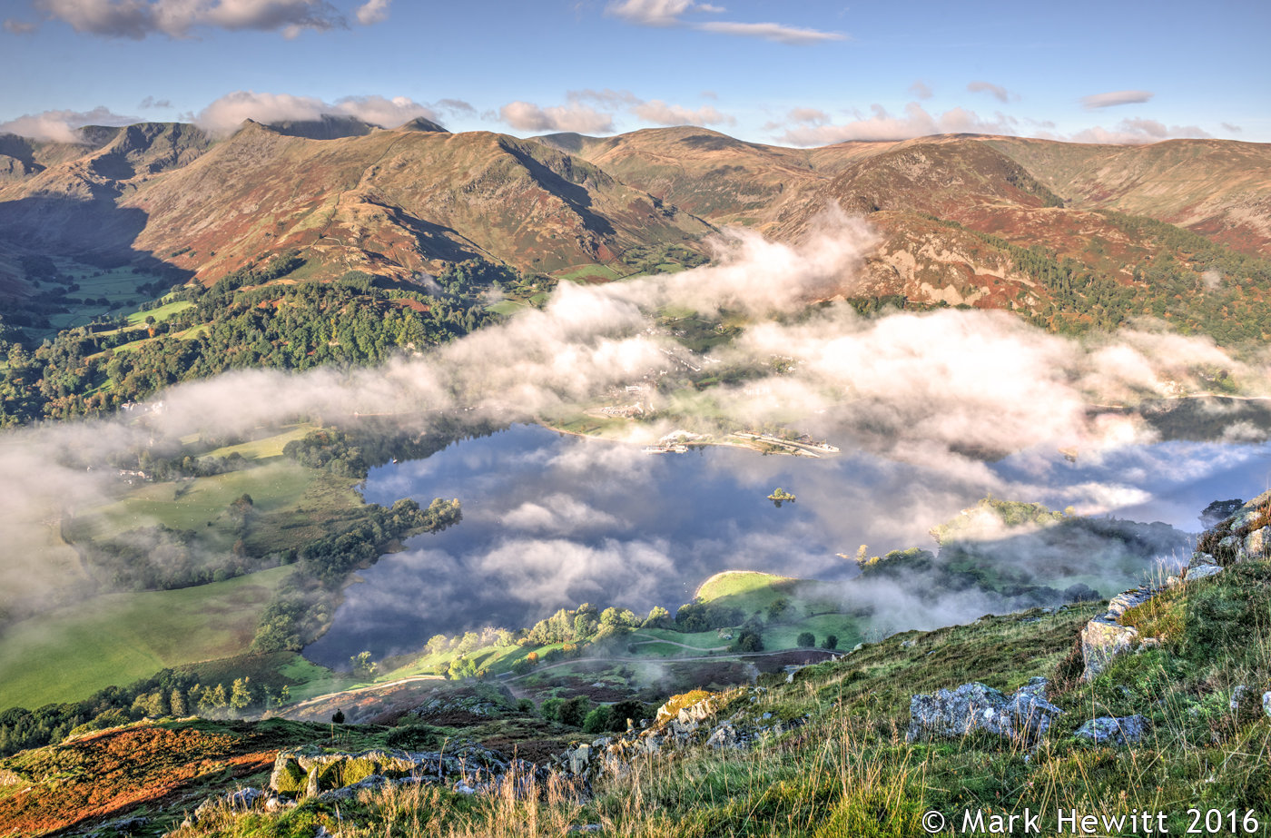 Glenridding & Birkhouse Moor From Place Fell