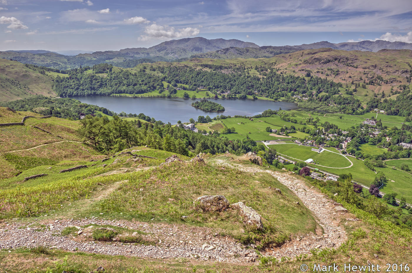 Grasmere From Greenhead Gill