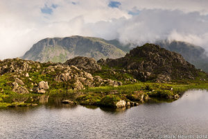 Great Gable From Innominate Tarn