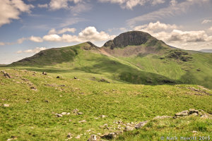 Green Gable & Great Gable From Grey Knotts