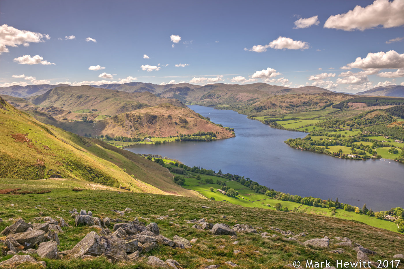 Hallin Fell, Place Fell & Ullswater From Barton Fell 2