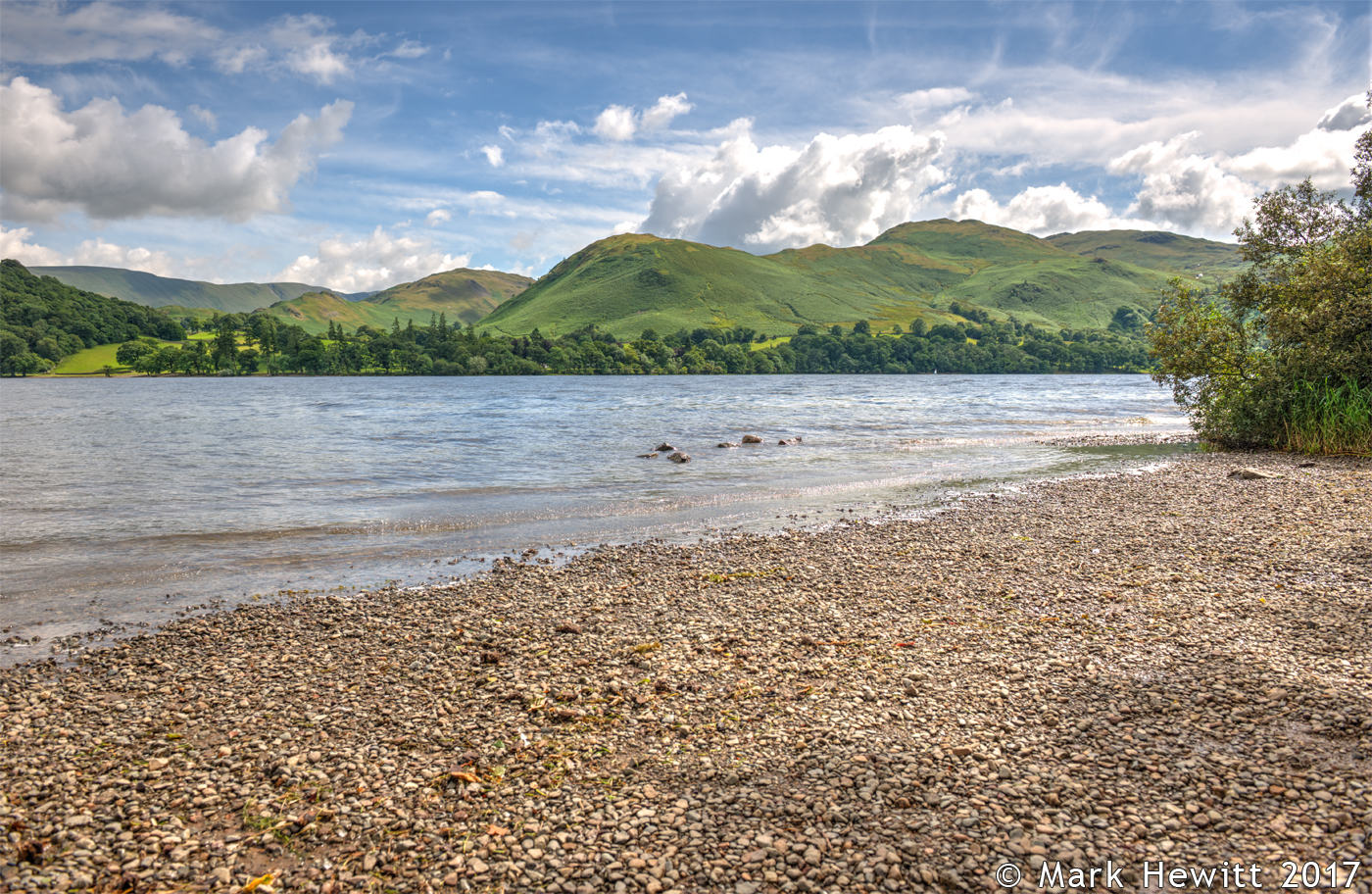 Hallin Fell & Ullswater From Gowbarrow Bay