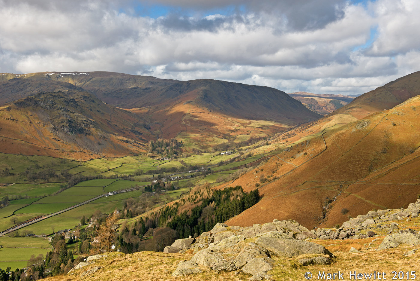Helm Crag & Steel Fell From Grey Crag