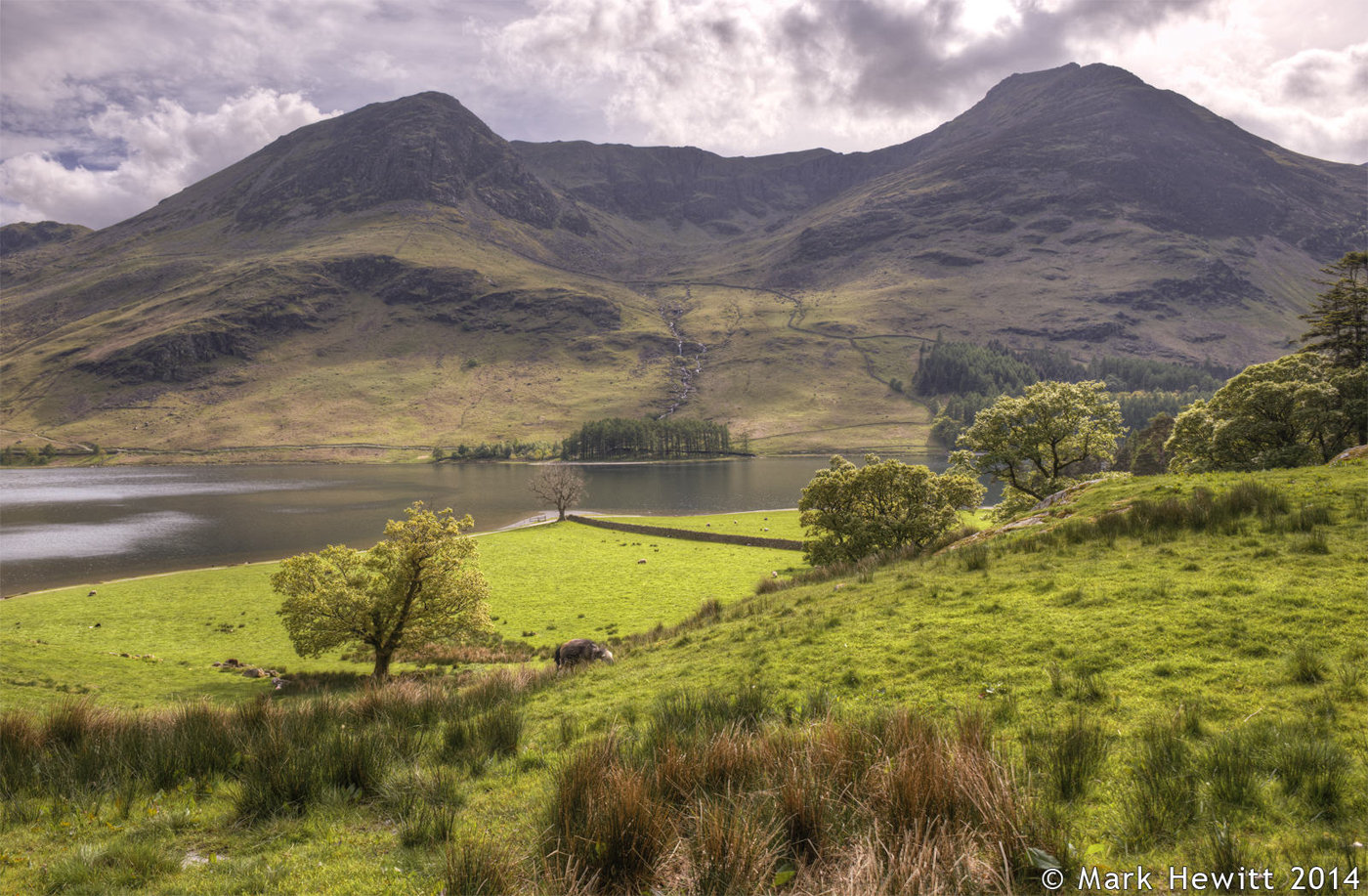 High Crag & High Stile From Buttermere