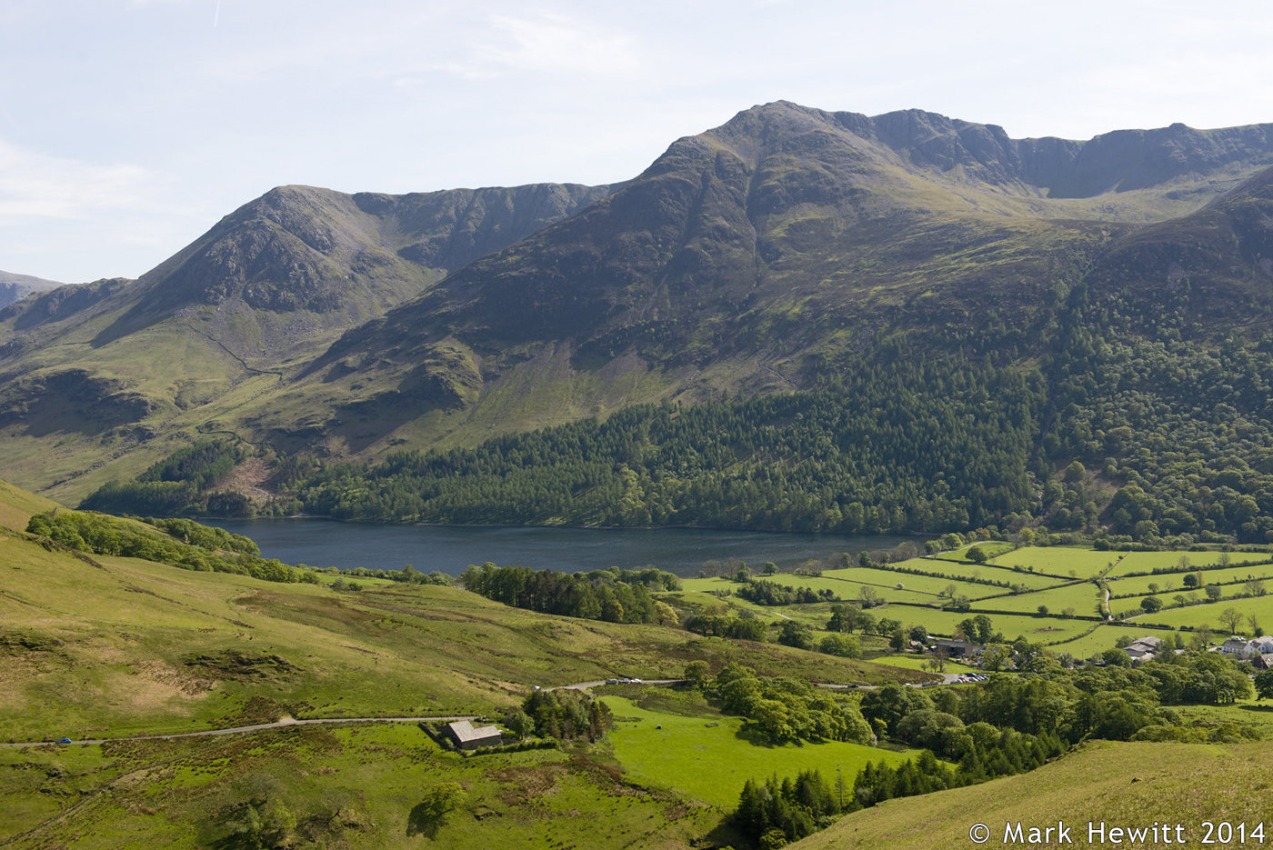 High Stile, Red Pike and Buttermere From Low Bank