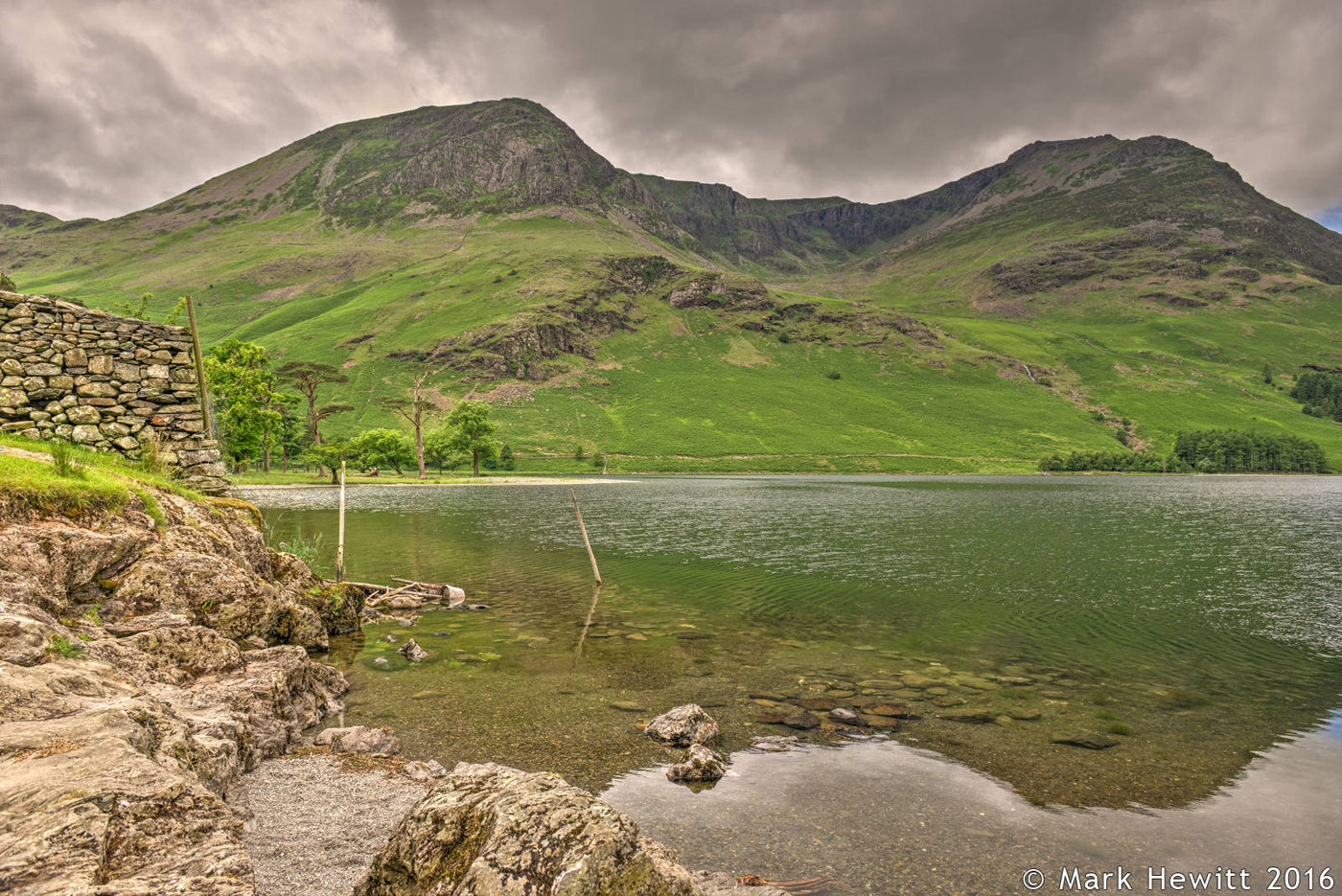 High Stile & Red Pike From Buttermere