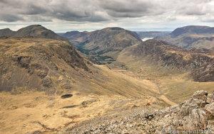 Kirk Fell, Ennerdale, Haystacks, High Crag & Crummock Water From Great Gable