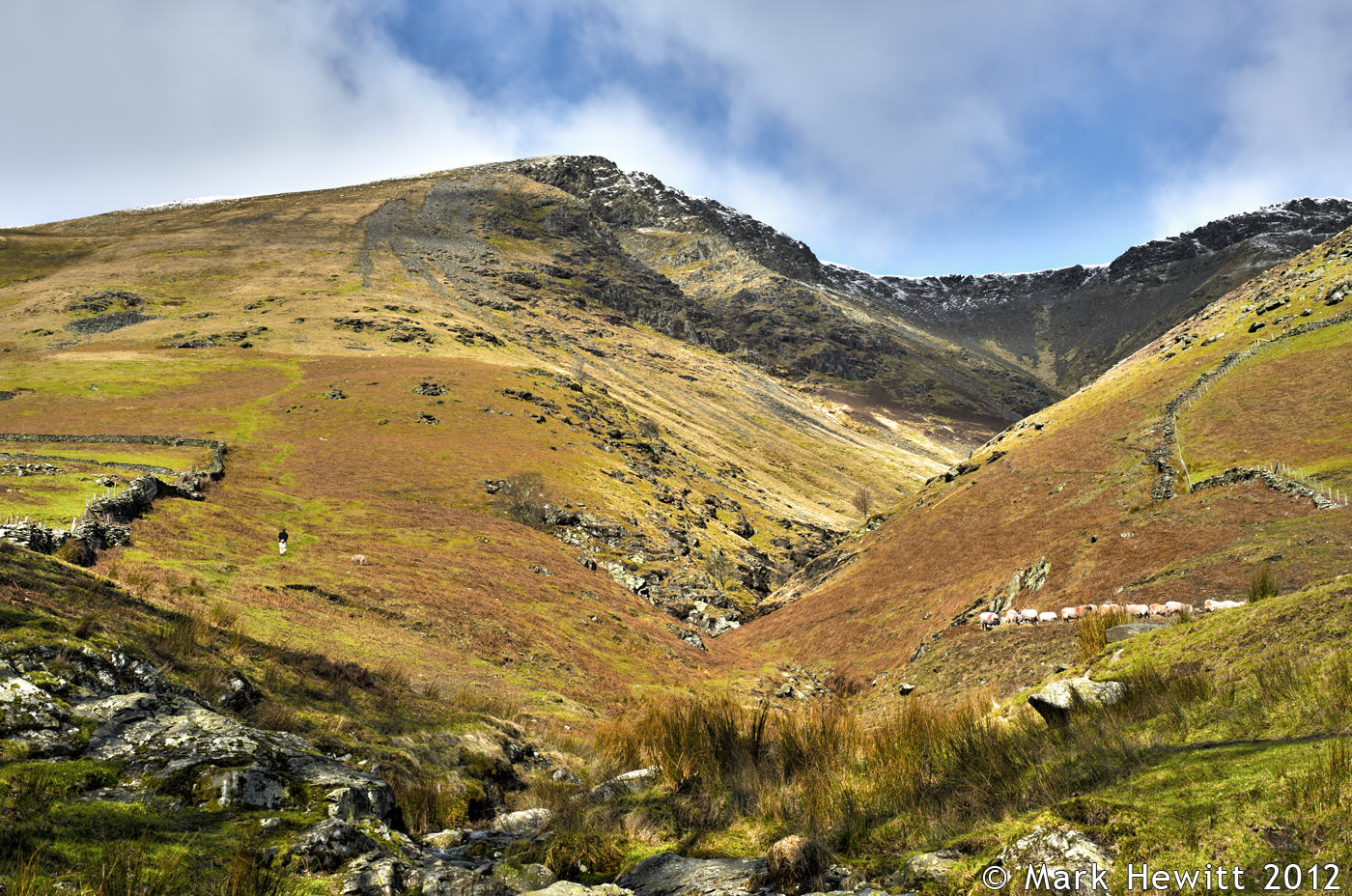 Knowe Crag From Blease Gill