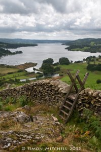 Lake Windermere From Loughrigg Terrace