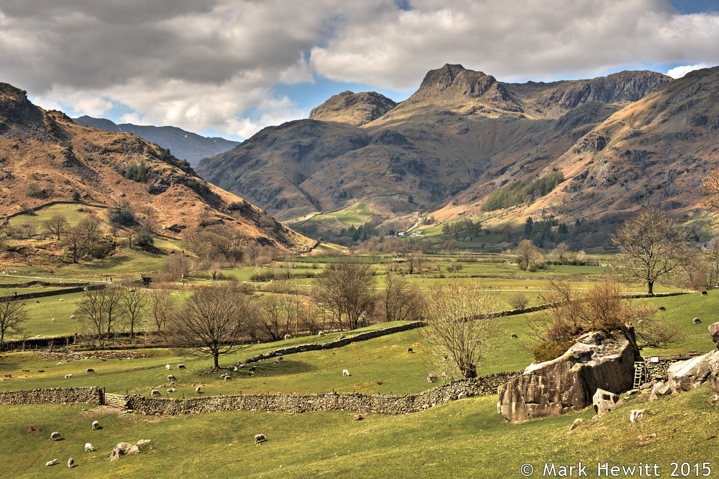 Langdales From Red Bank