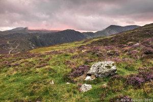 Last Light Over Kirk Fell, Haystacks & High Crag