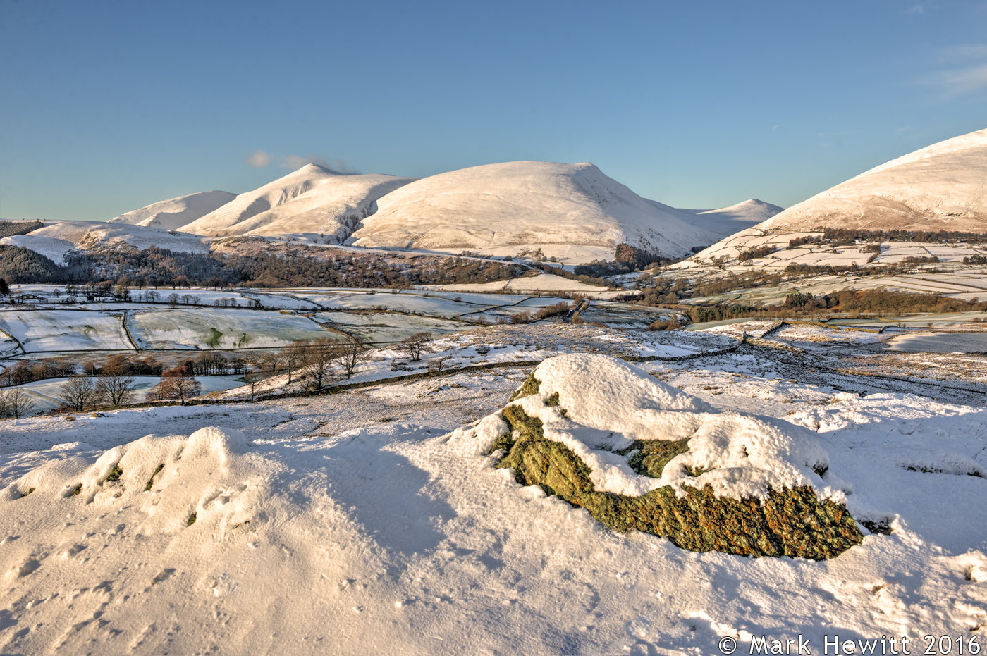 Latrigg & Lonscale Fell From Low Rigg
