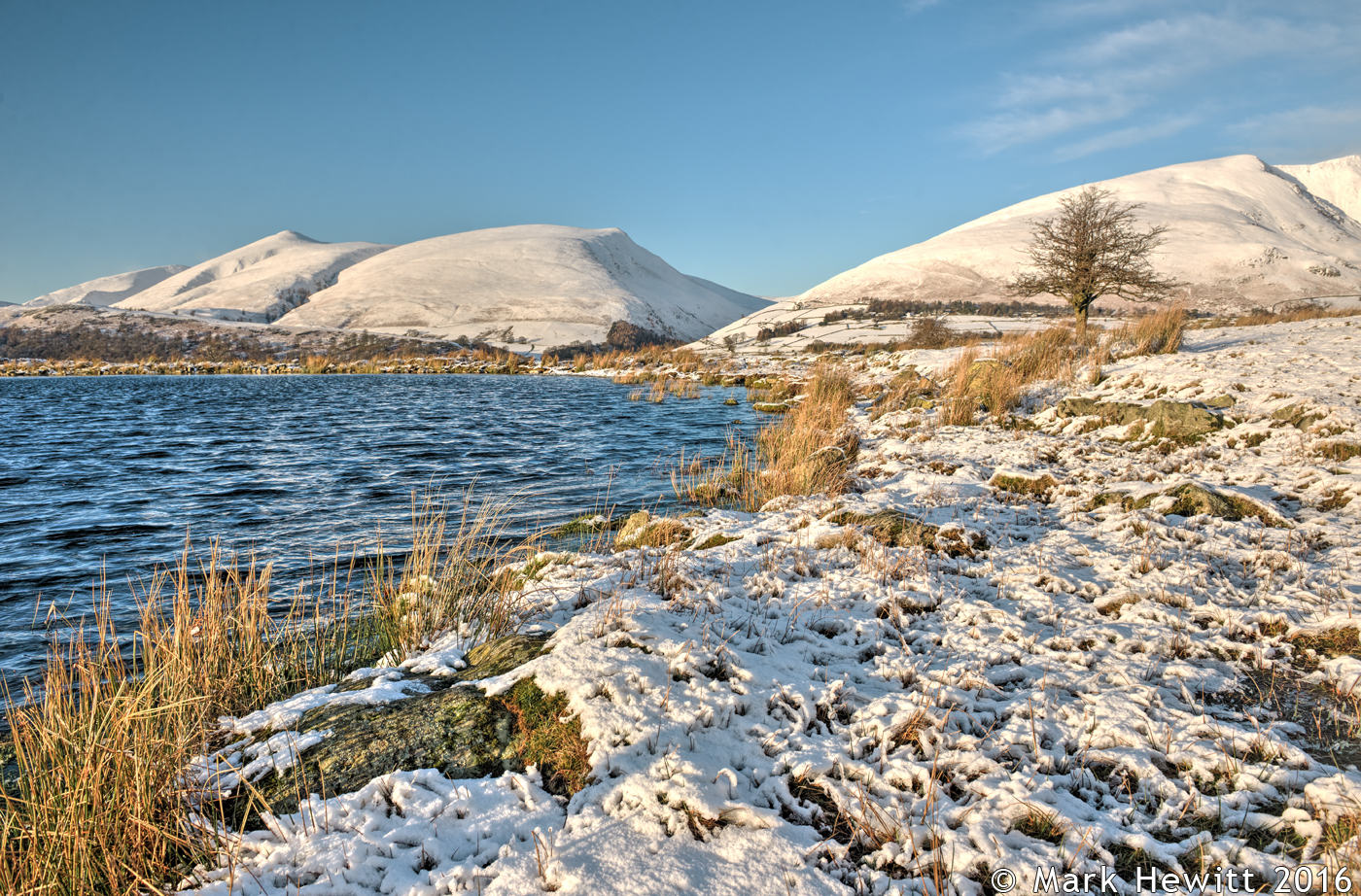 Latrigg & Lonscale Fell From Tewet Tarn