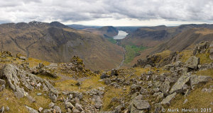Lingmell, Wasdale & Yewbarrow From Great Gable
