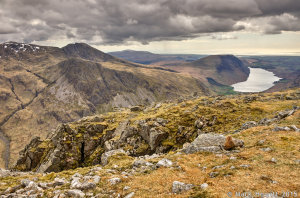 Lingmell & Wasdale From Great Gable