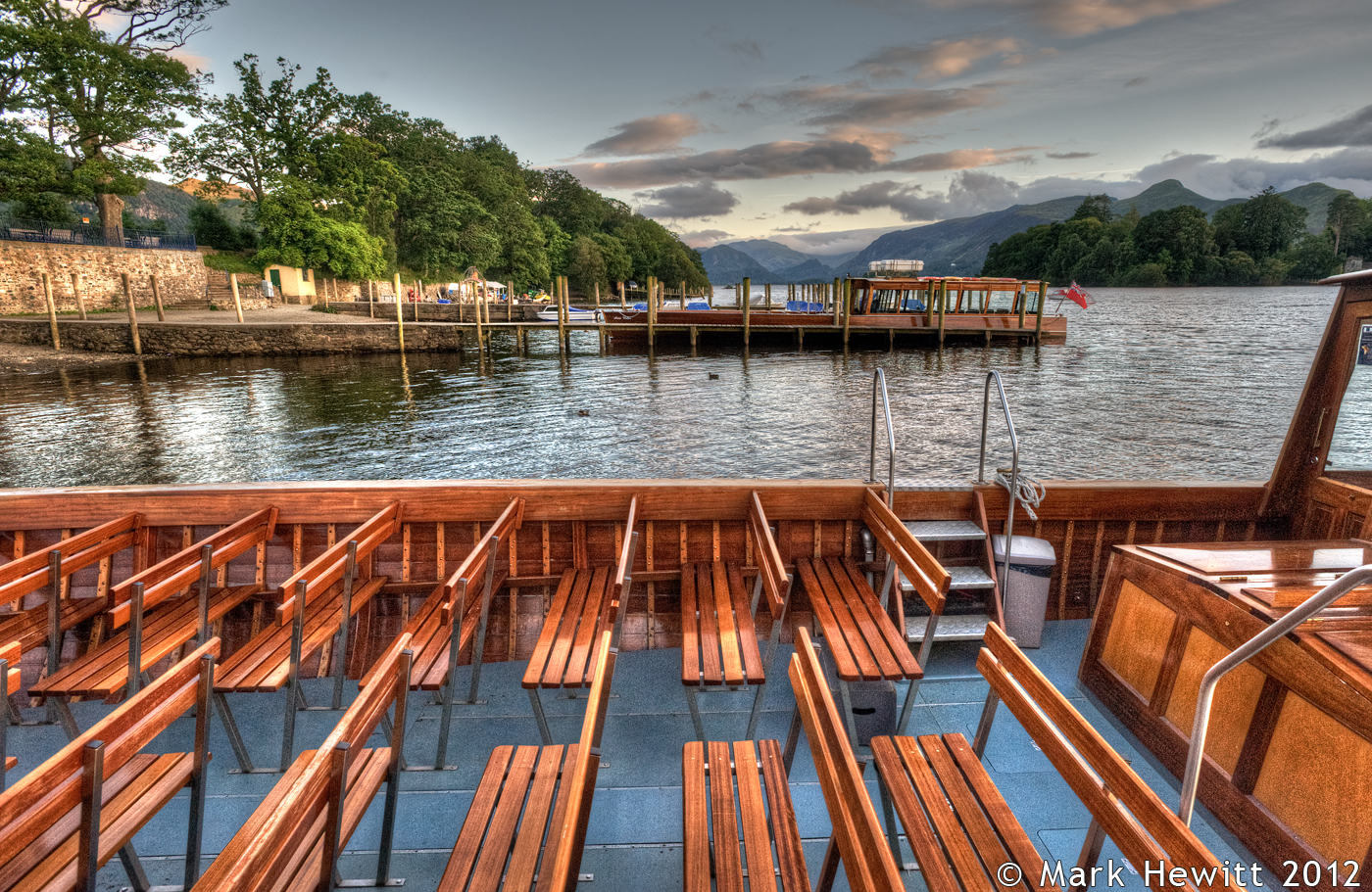 Looking South On Derwentwater Launch