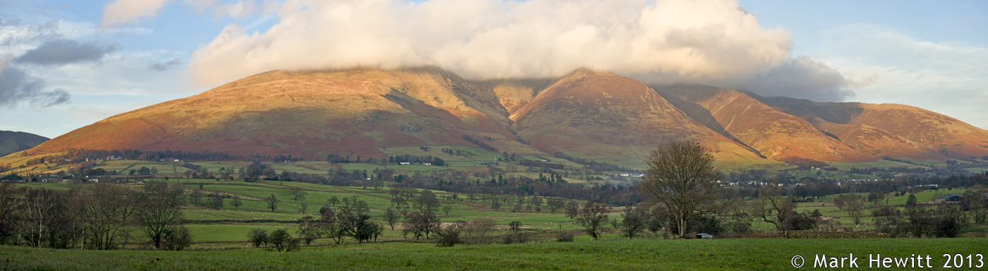 Low Cloud Over Blencathra