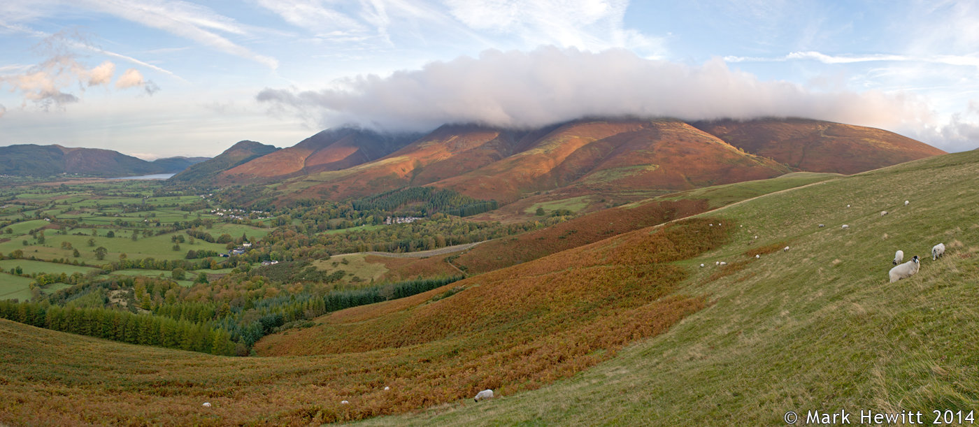 Low Cloud Over Skiddaw From Latrigg
