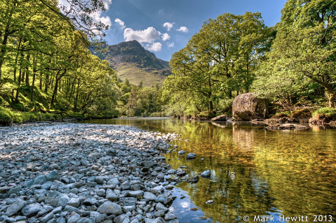 Maiden Moor From River Derwent