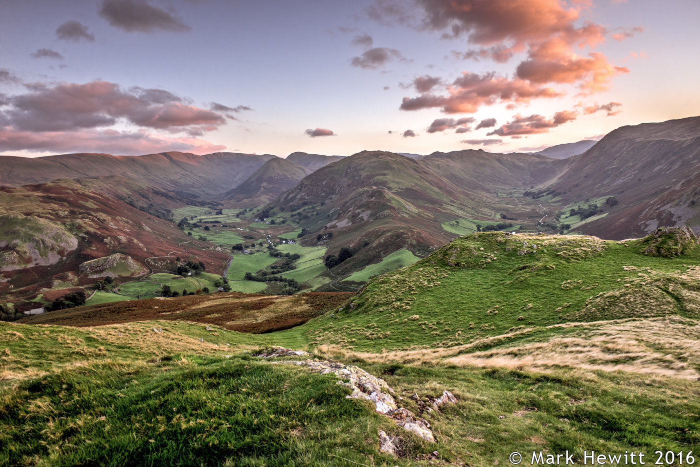 Martindale, The Nab & Beda Fell From Hallin Fell.