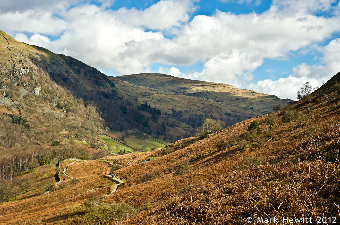 Nab Scar From Loughrigg Terrace