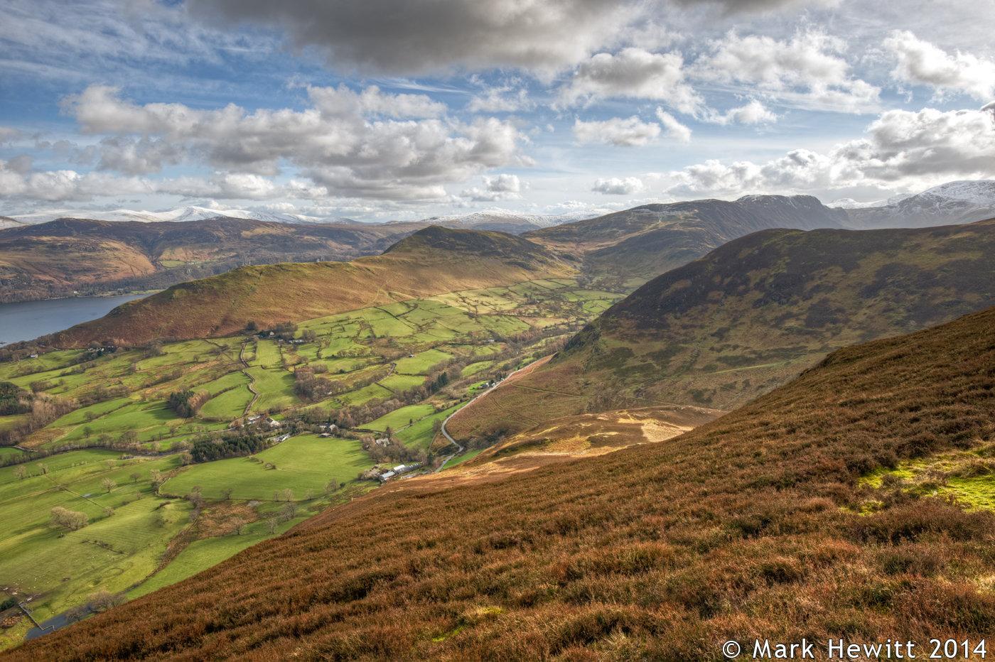 Newlands Valley & Catbells From Barrow Fell