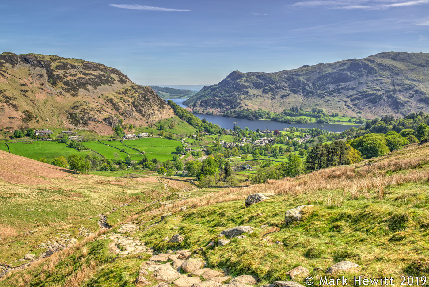 Place Fell & Ullswater From Birkhouse Moor