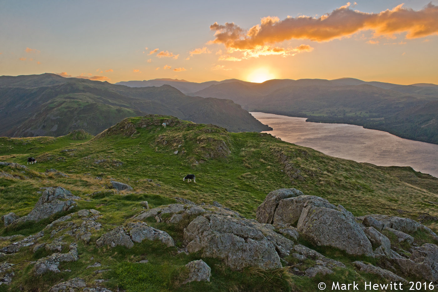 Place Fell & Ullswater From Hallin Fell