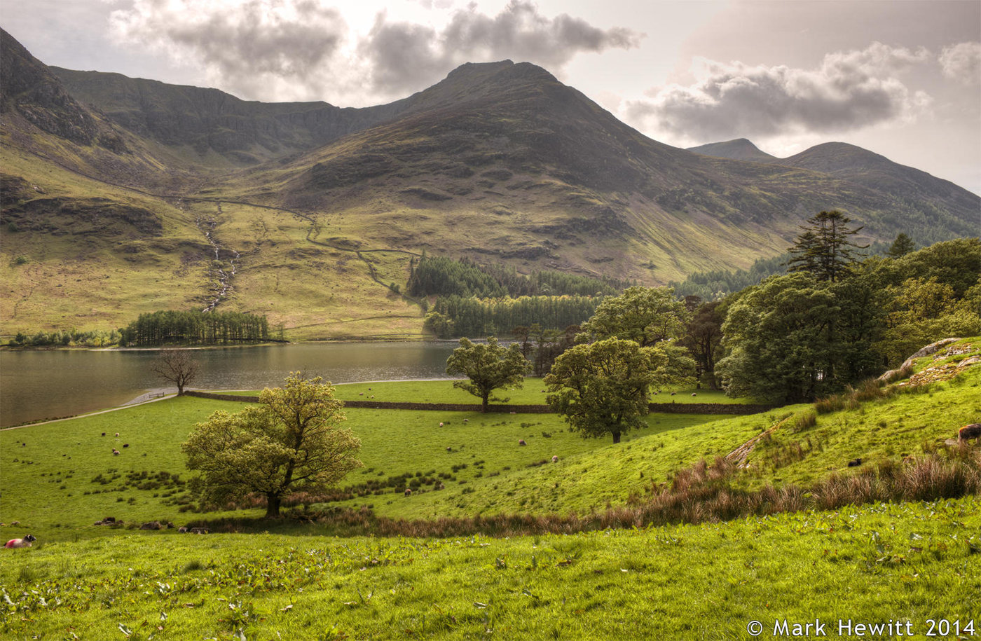 Red Pike From Buttermere