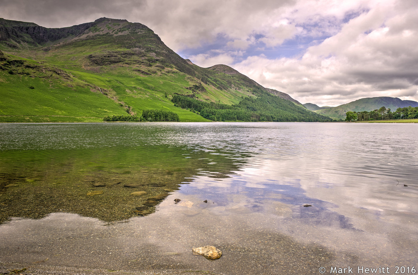 Red Pike & Melbreak From Buttermere