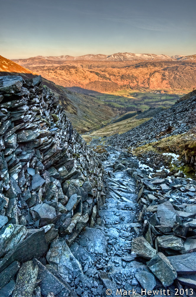 Rigghead Slate Path