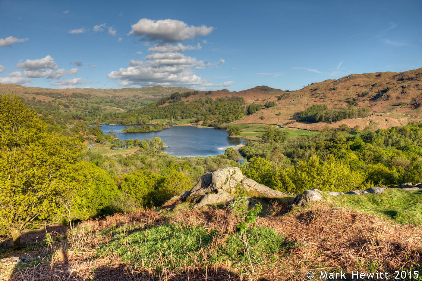 Rydal Water & Loughrigg Fell