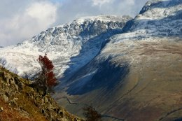 Scafell From Greendale Valley