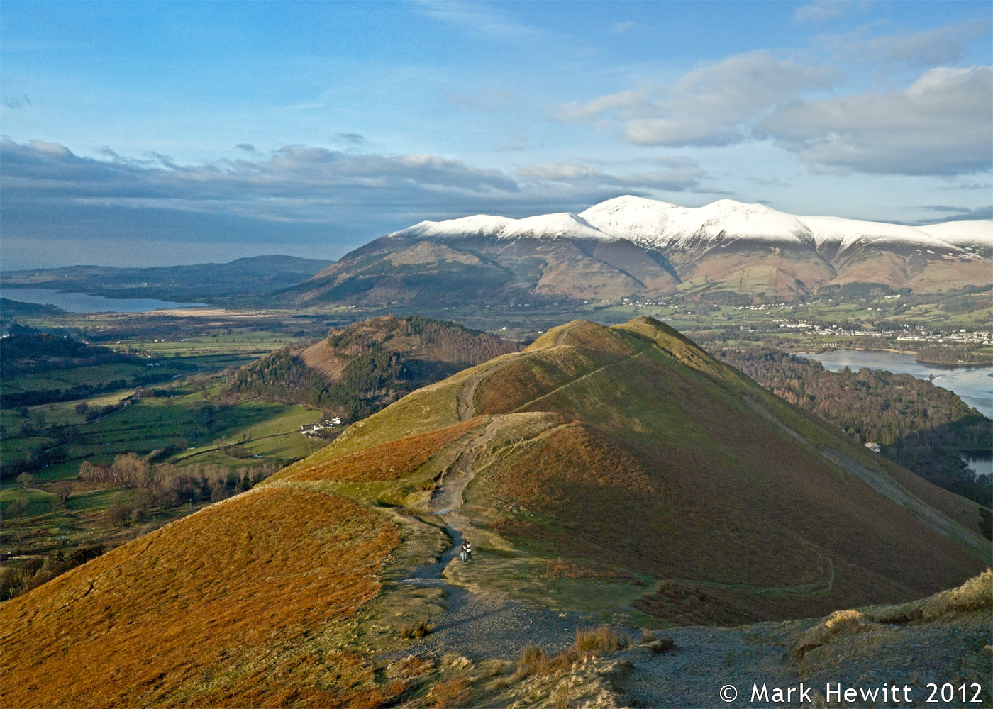 Skiddaw From Catbells Fell