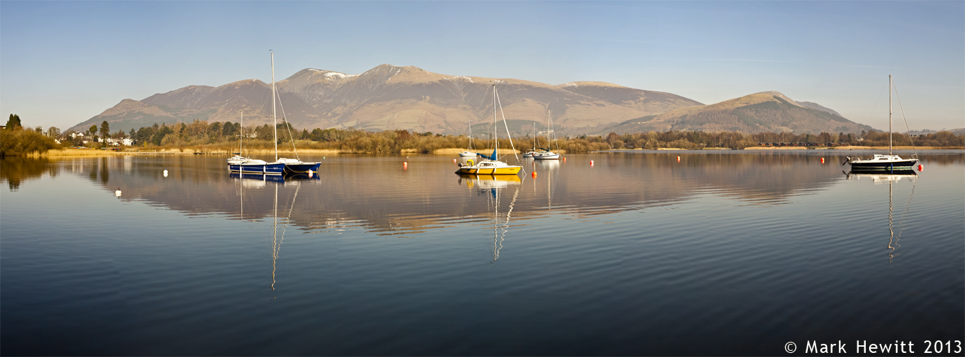 Skiddaw From Nichol End Marina