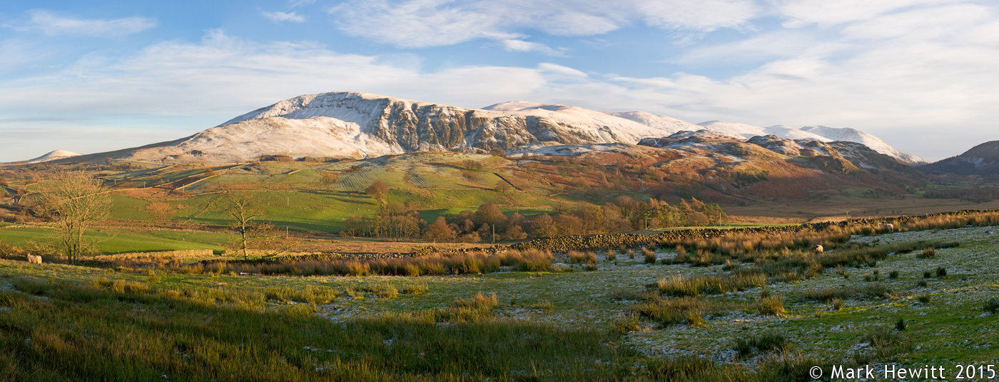 Snow Topped Fells