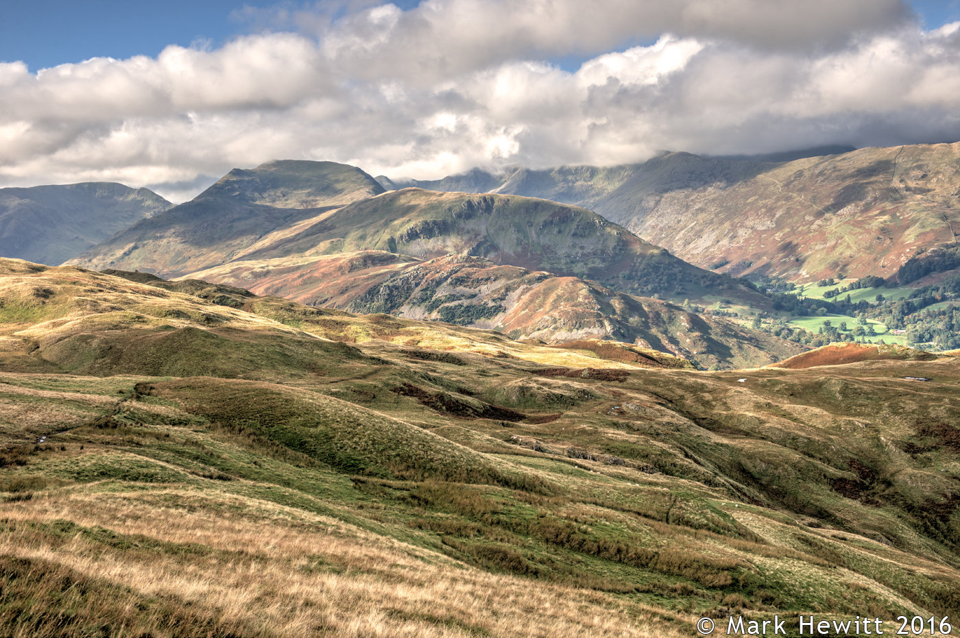 St Sunday Crag & Birks From Boredale