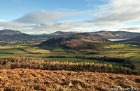 Swinside, Walla Crag And Helvellyn From Barrow Fell