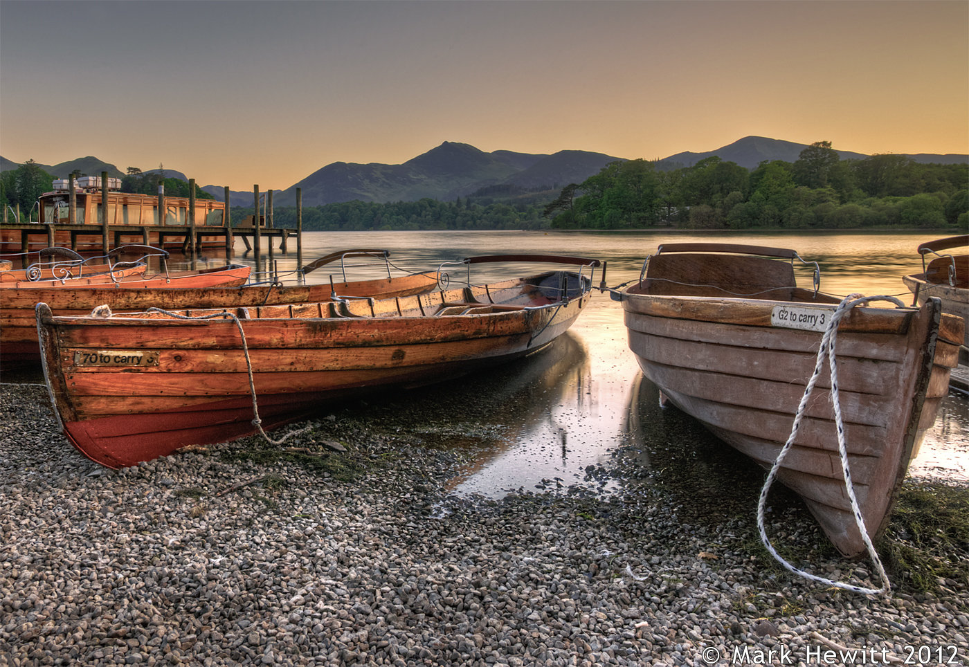 The Boats At Derwentwater