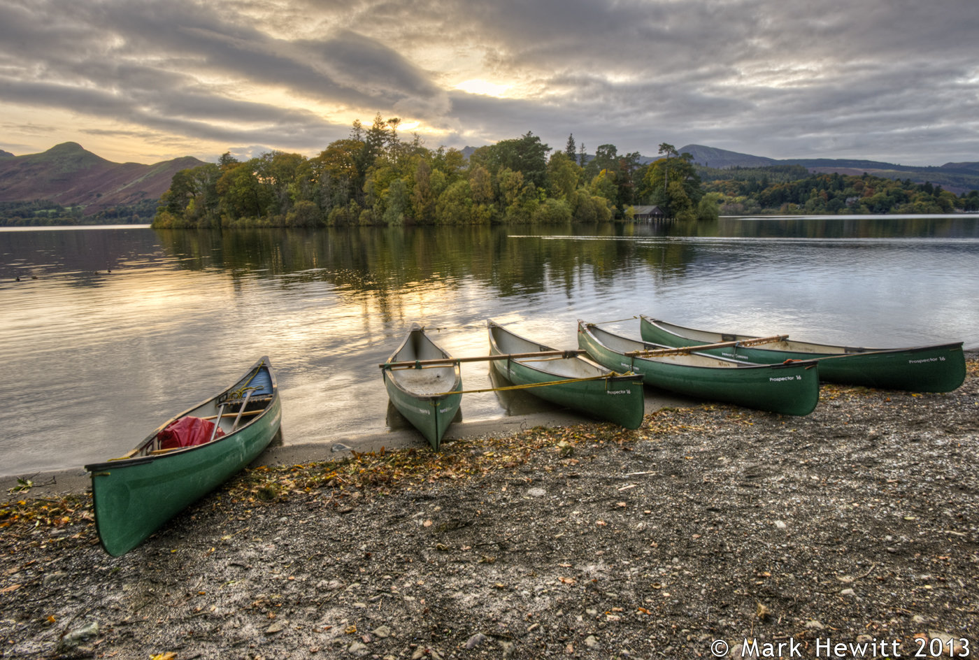 The Last Light At Derwentwater