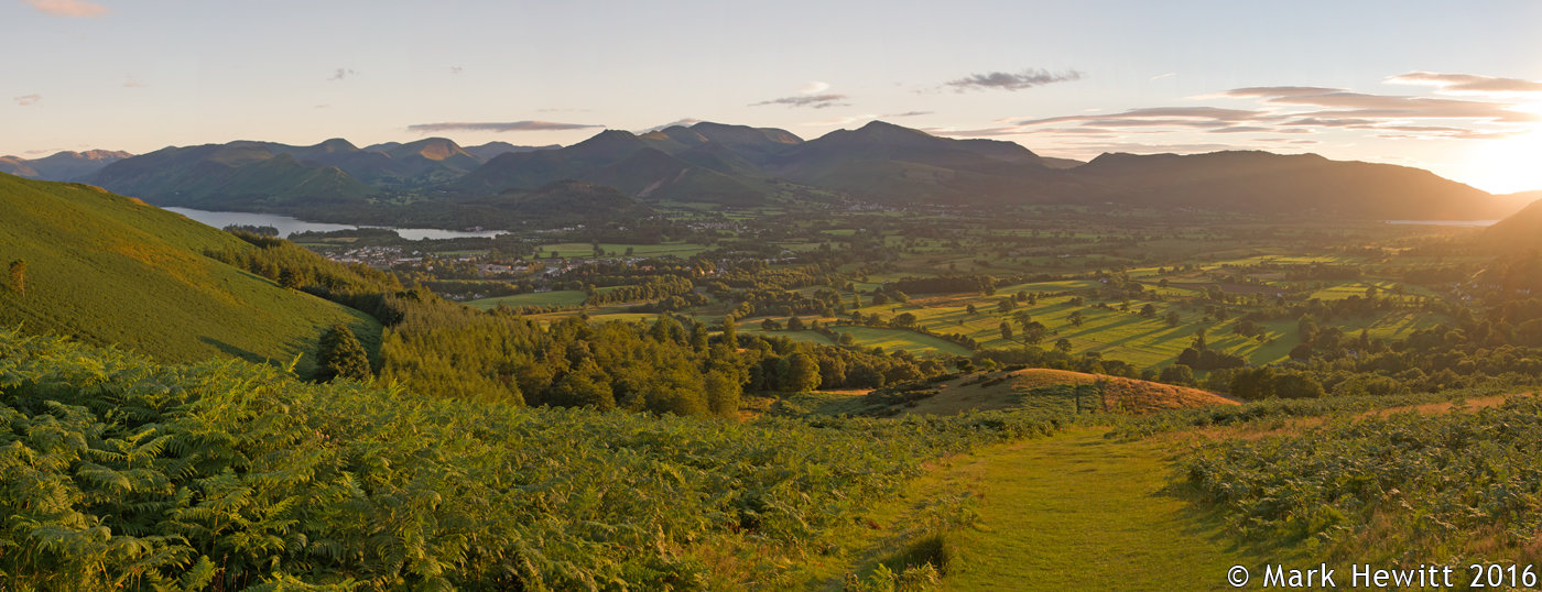 The North West Fells From Latrigg